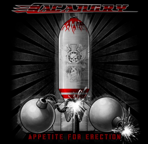 "Image of Shirt ""Appetite For Erection"" (men)"