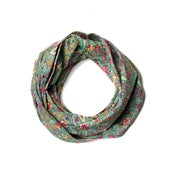 Image of 676685040084-1 KANTHA COTTON SCARF 18 X 72 - 322A