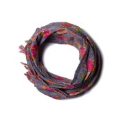 Image of 676685040121-1 KANTHA COTTON SCARF 18 X 72 - 326A