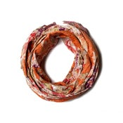 Image of 676685040299-1 KANTHA COTTON SCARF 18 X 72 - 315A