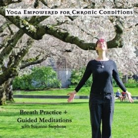 Image of Yoga Empowered for Chronic Conditions: Breath Practice + Guided Meditations Practice CD