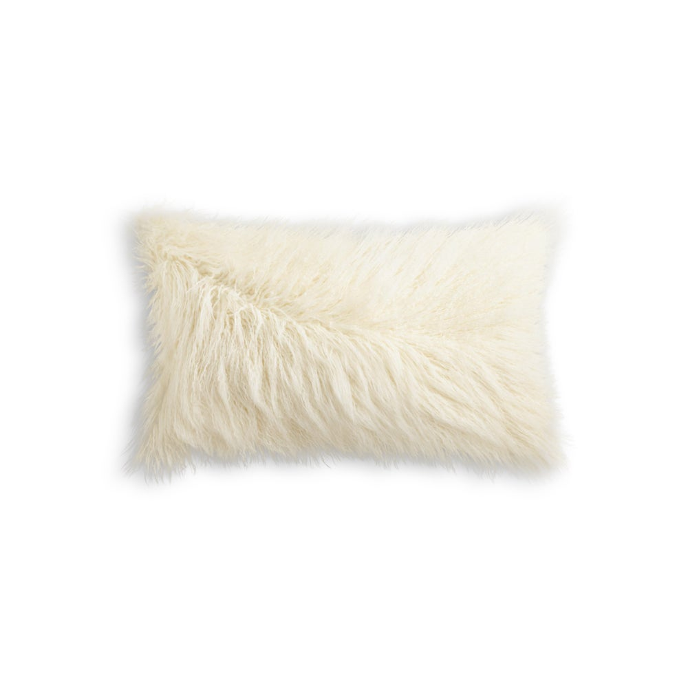 Image of 676685041586 FRISCO MONGOLIAN SHEEPSKIN FAU…TONE WHITE