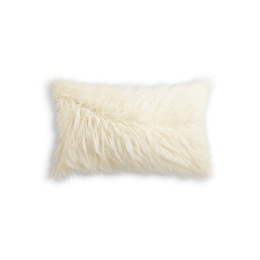 Image of 676685041586 FRISCO MONGOLIAN SHEEPSKIN FAU…TONE WHITE