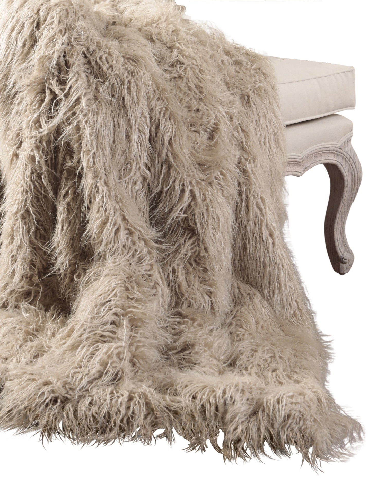 Image of 676685041692 PLANO MONGOLIAN SHEEPSKIN FAUX FUR 50X70