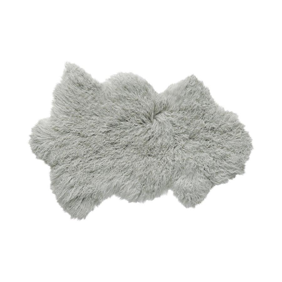 Image of 676685041760 Rockwall Mongolian Faux Sheepskin 2x3 Grey