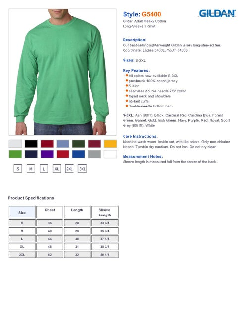 Image of St. Paddy's Day long sleeve