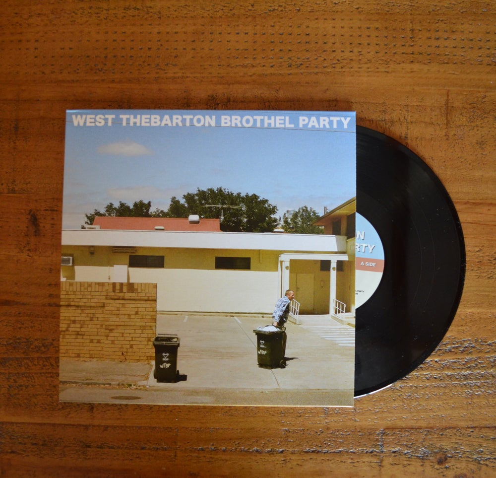 """Image of West Thebarton Brothel Party s/t 10"""" EP"""
