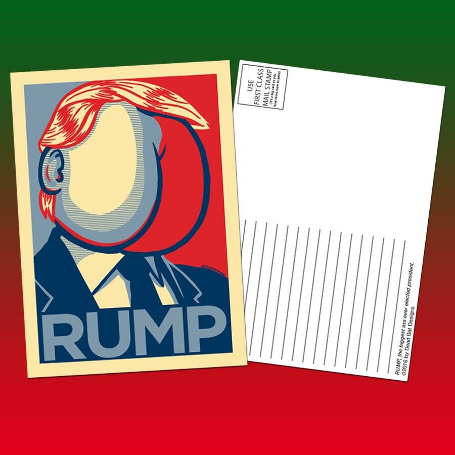 Image of Rump 5x7 postcards