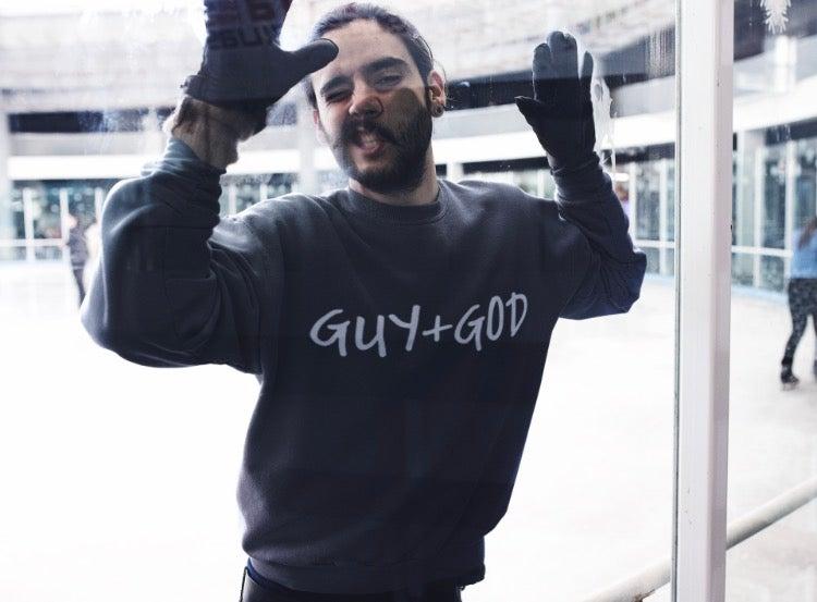Image of Guy+God Crewneck Sweat Shirts