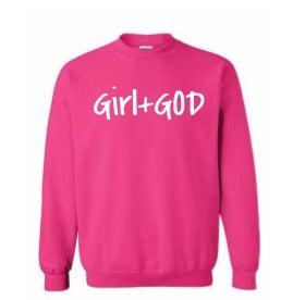 Image of Girl+GOD Crew Neck Sweatshirt