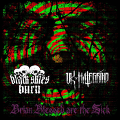 Image of Black Skies Burn / UK Hate Grind - Brian Blessed Are the Sick Split CD