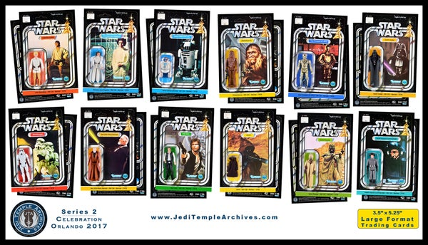 Image of Series 2 Vintage Card Back Trading Cards (set of 12): Celebration Orlando 2017