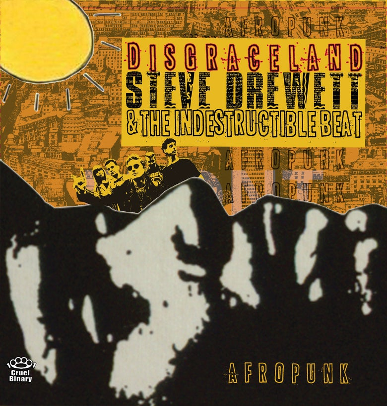 Image of Steve Drewett & The Indestructible Beat - Disgraceland CD