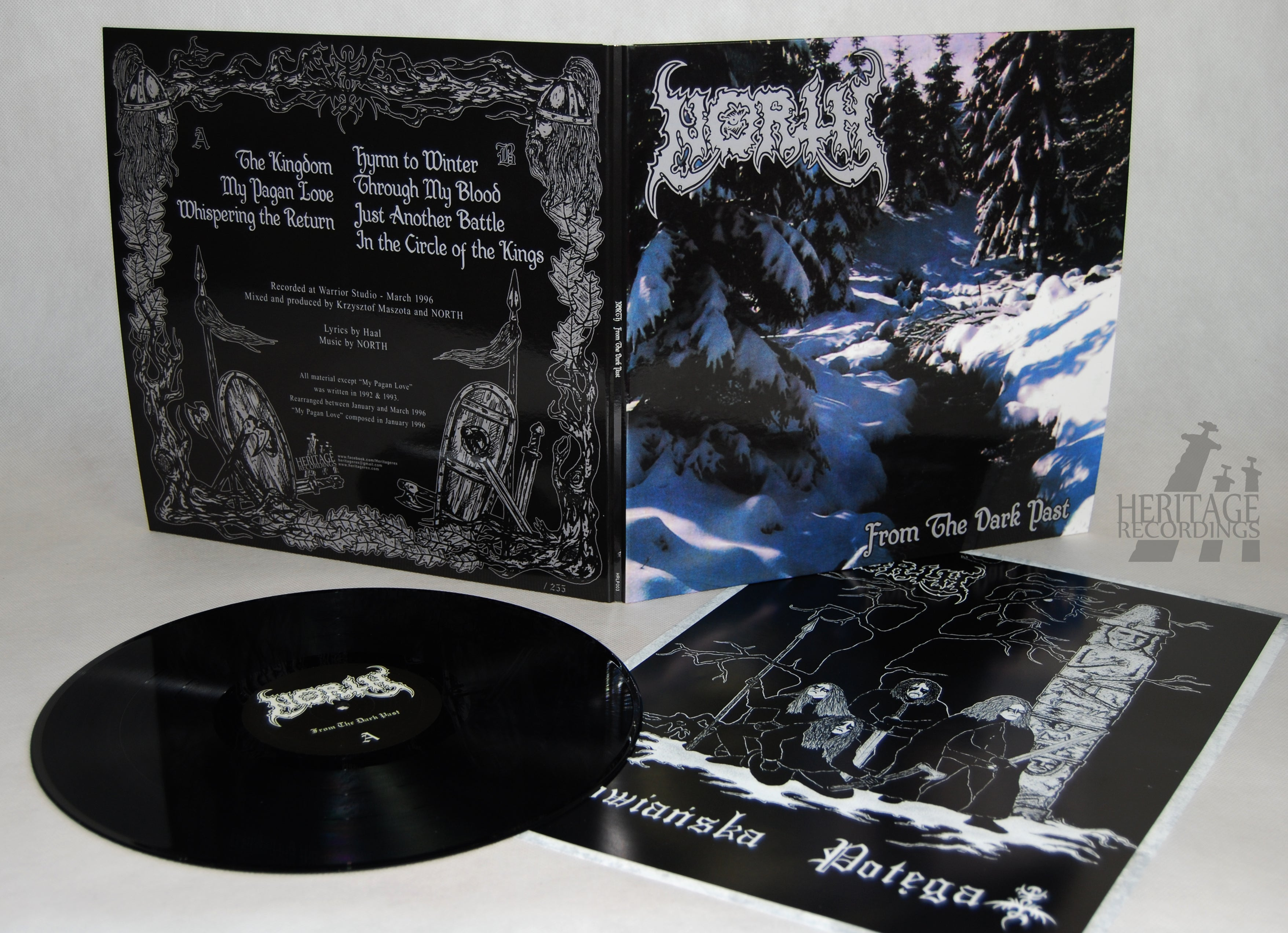 """Image of NORTH """"From The Dark Past"""" 12"""" LP"""