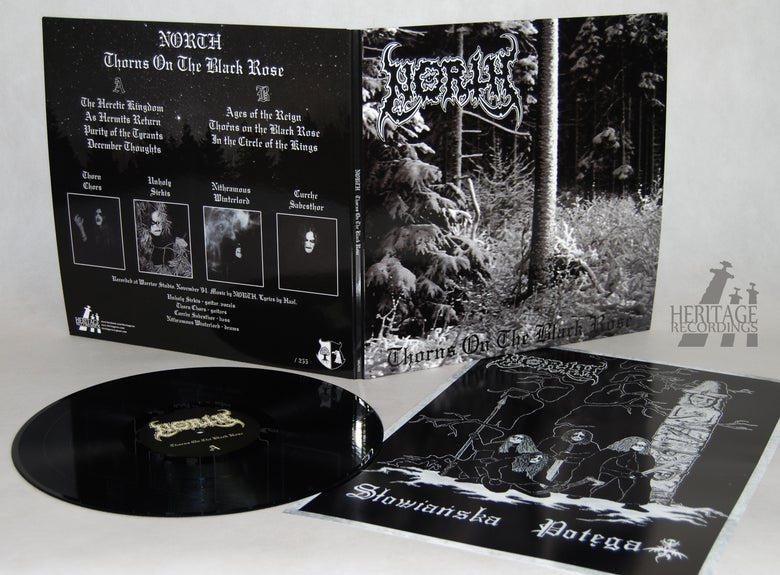 """Image of NORTH """"Thorns On The Black Rose"""" 12"""" LP"""