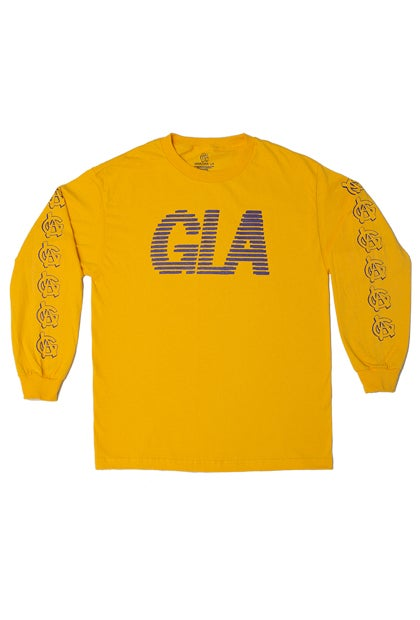 Image of Gold & Purple GLA Long Sleeve. #502