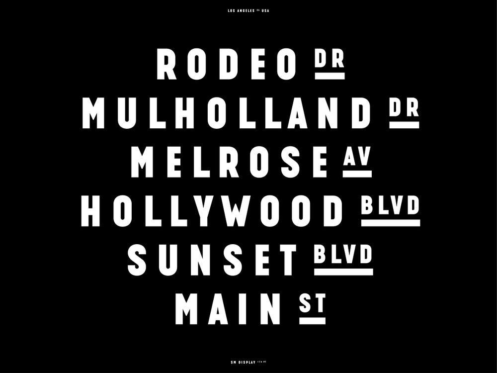 Image of SM Type Specimen. Los Angeles