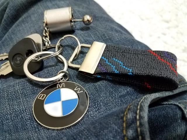 Image of Motorsport Cloth Key Chain