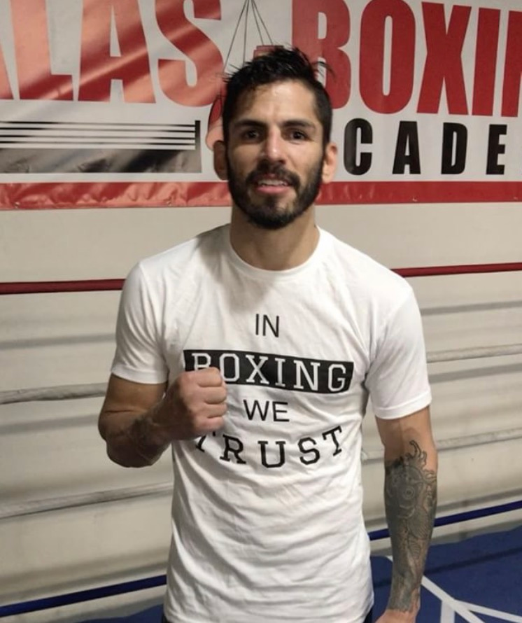 Image of [RED] In Boxing we Trust MENS shirts