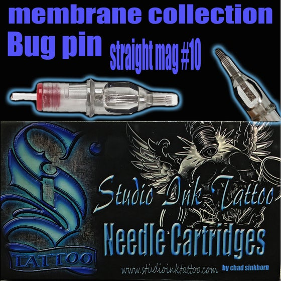 Image of Membrane collection straight bugpin mags