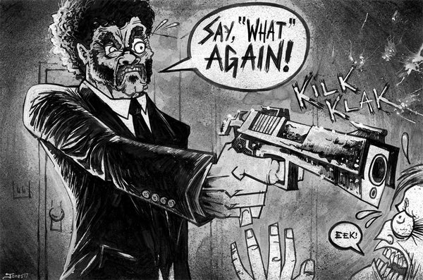 Image of 'Pulp Fiction' Original Painting