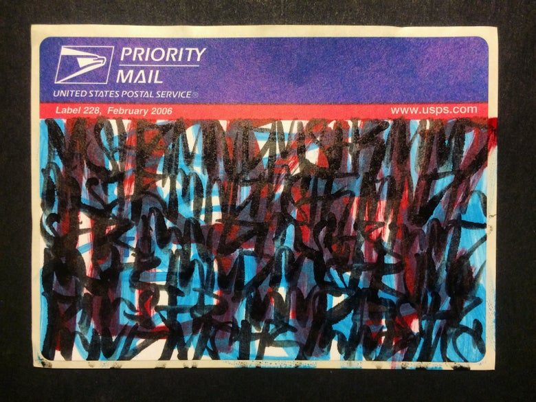 Image of Vintage Blue Top Sticker Pack