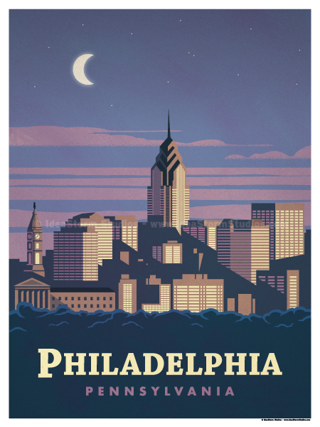 Image of Philadelphia Poster