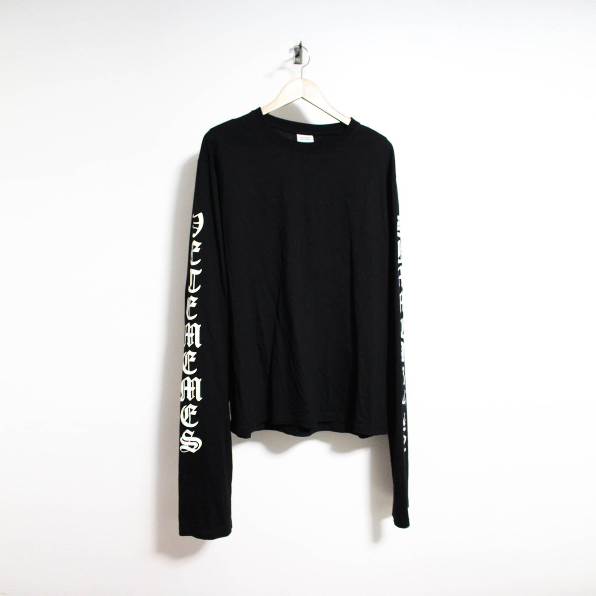 Image of Black Long Sleeve Shirt [PRE-ORDER]