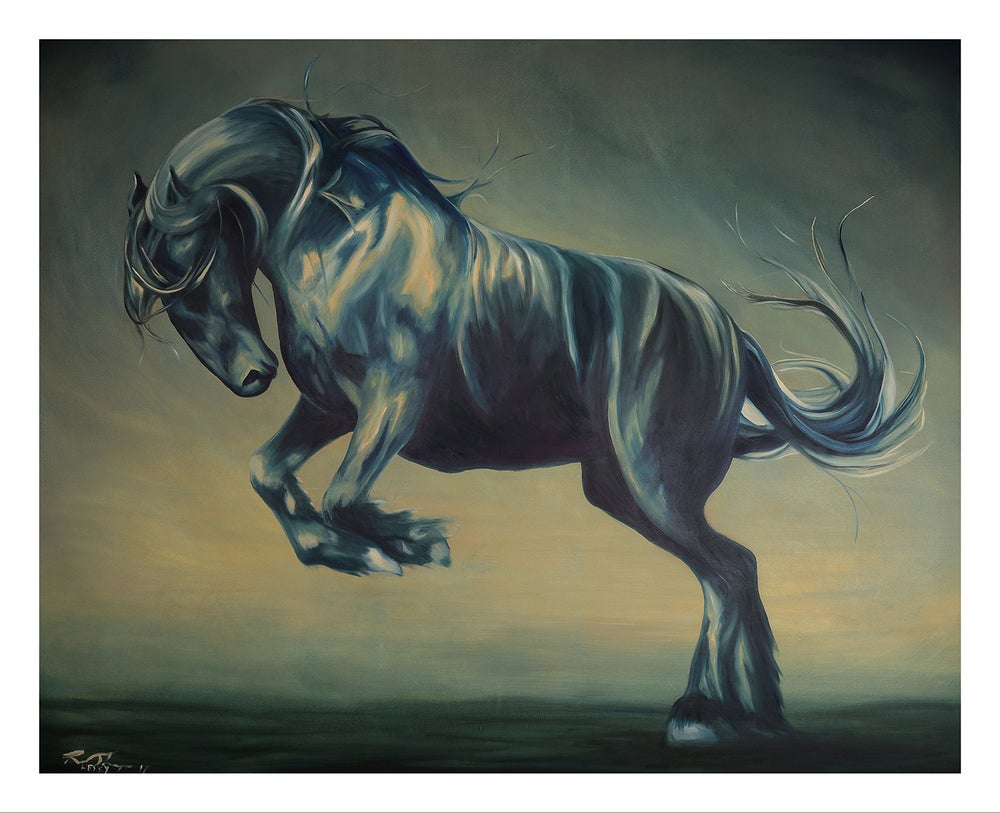Image of Mega Horse #2 (canvas)