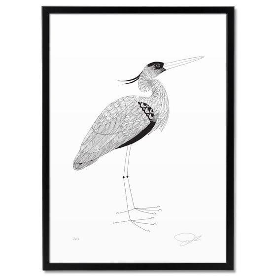 Image of Large Print: Heron