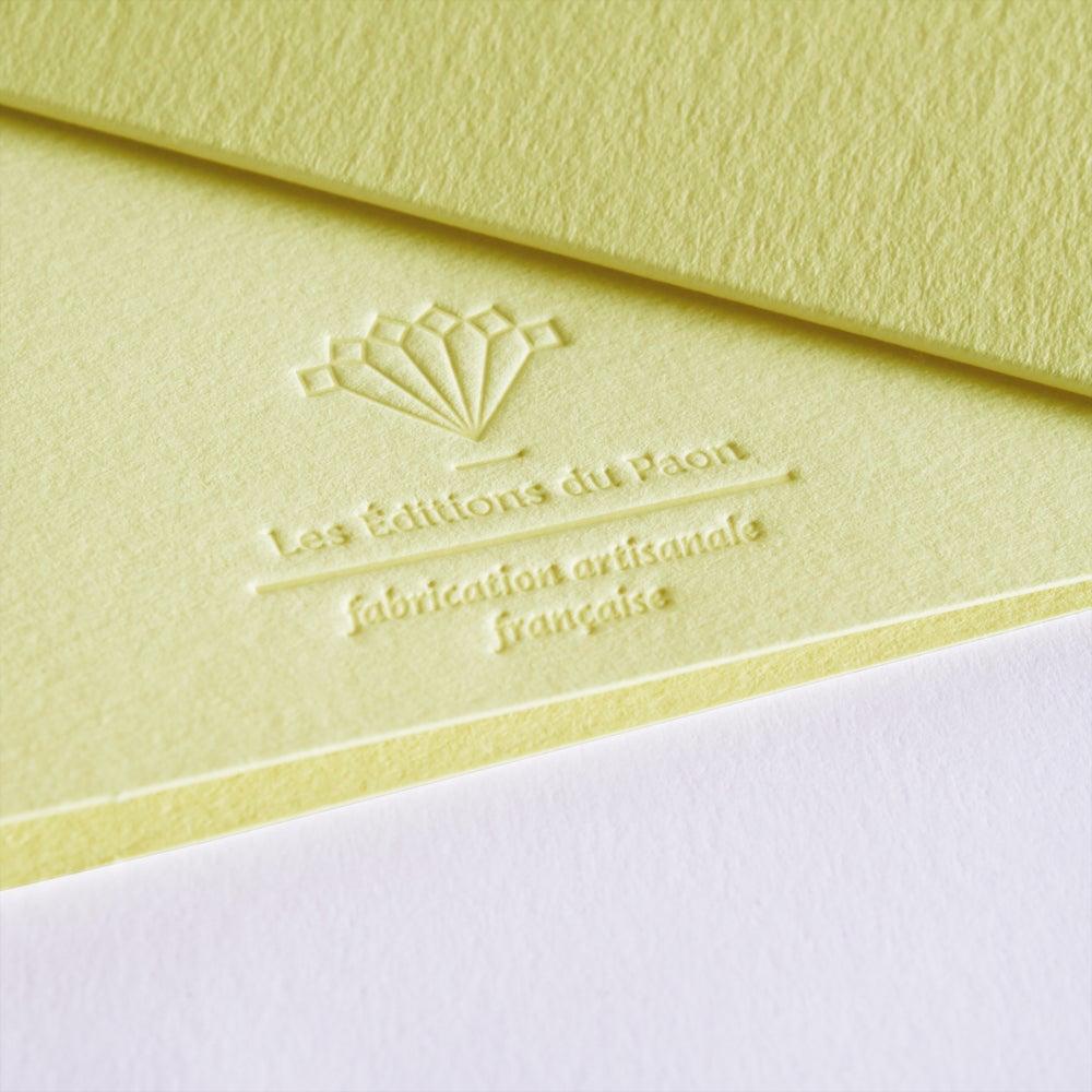 Image of Carte Jackpot MUM jaune pastel