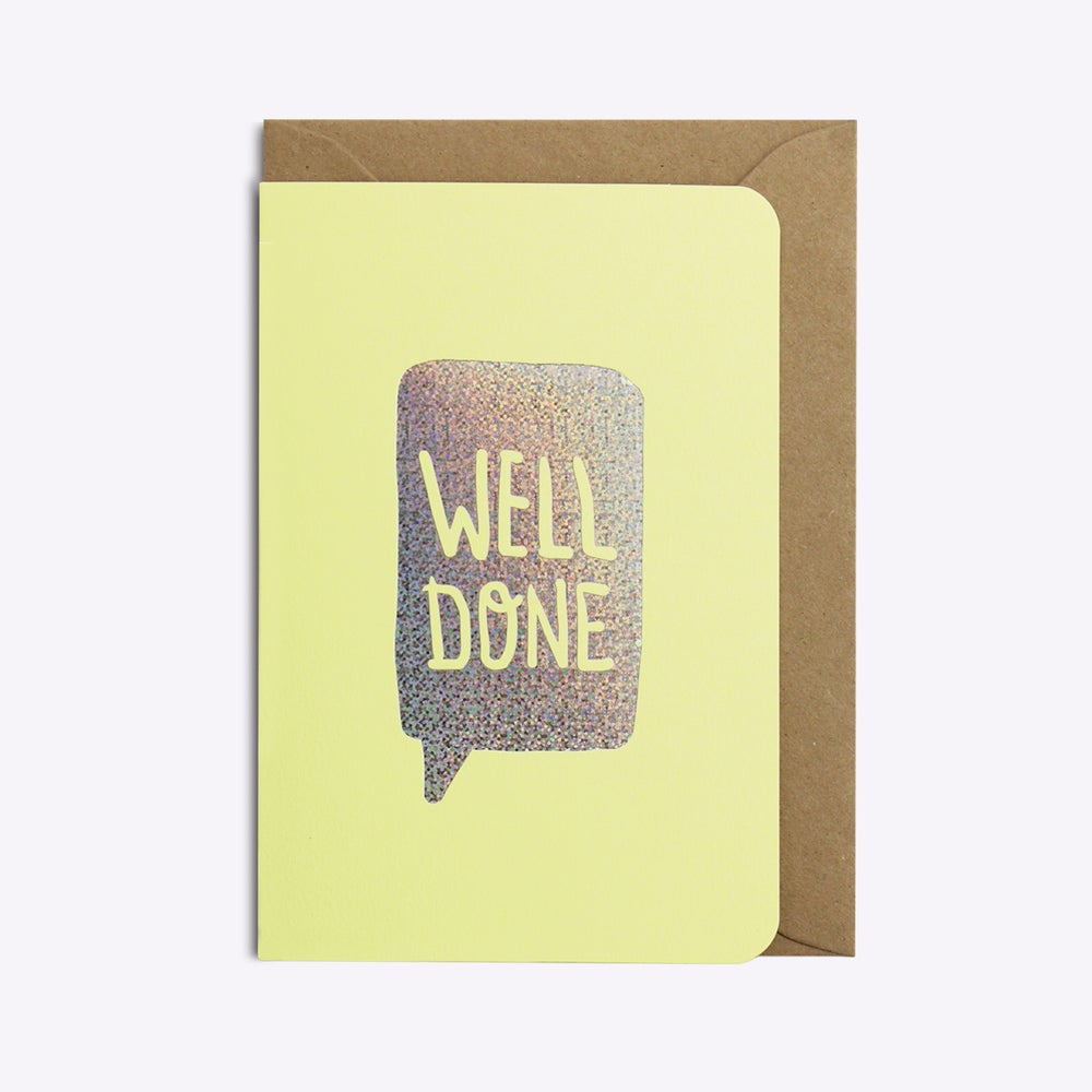 Image of Carte WELL DONE