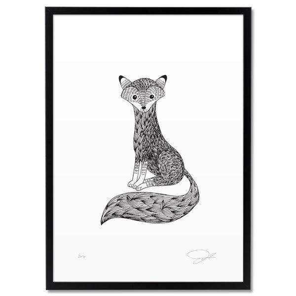 Image of Print: Tiny Fox