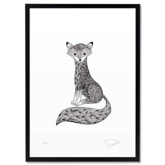 Image of Print: Tiny Fox