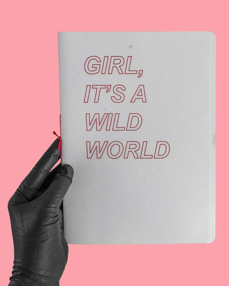 Image of GIRL, IT'S A WILD WORLD ZINE