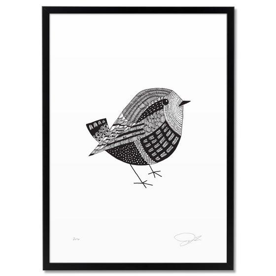 Image of Print: Bird Small