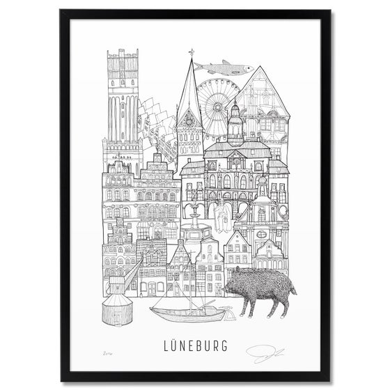 Image of LARGE PRINT: LÜNEBURG