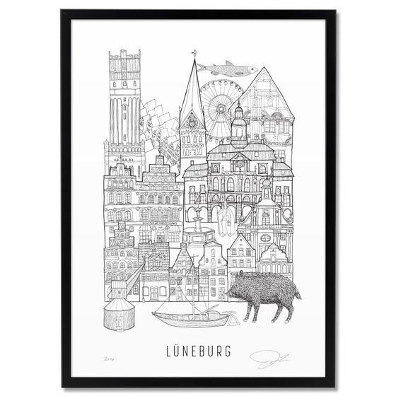 Image of LARGE PRINT: LÜNEBURG