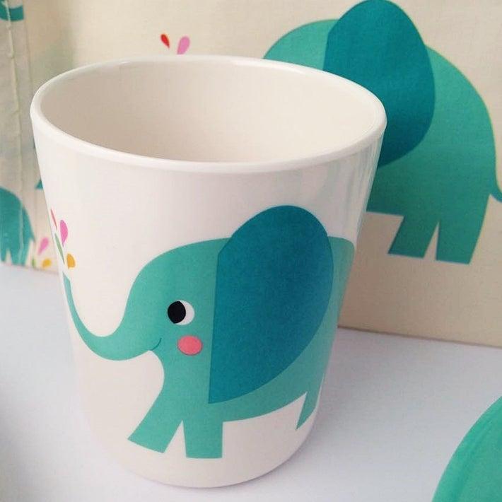 Image of Elephant Melamine Mealtime Set