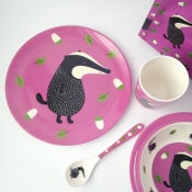 Image of Badger Melamine Mealtime Set