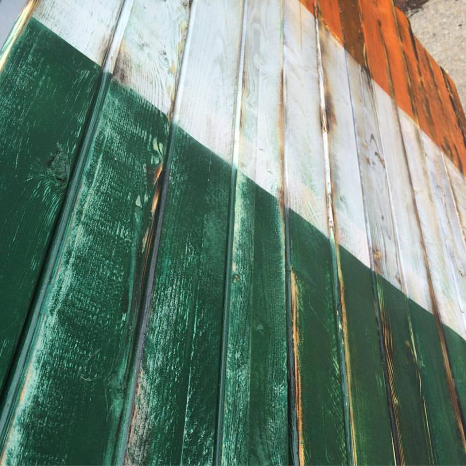the wildfire creations u2014 large irish flag