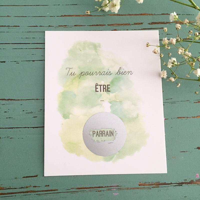 Image of Carte à gratter Parrain