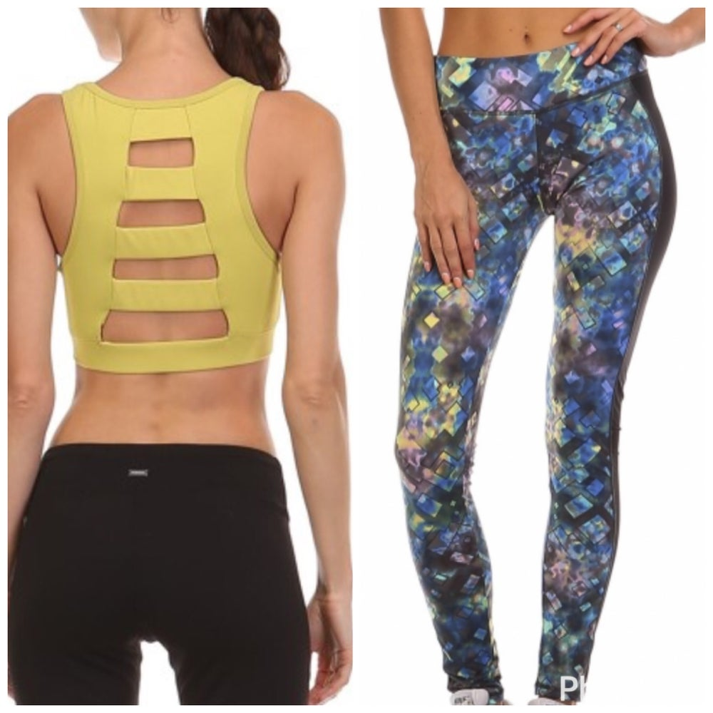 Image of Sweat it Out Workout Top and Legging