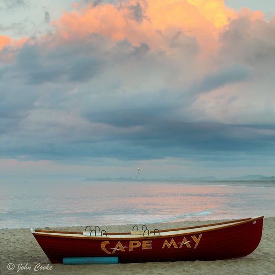 Image of Cape May Lifeboat Cove Sunrise