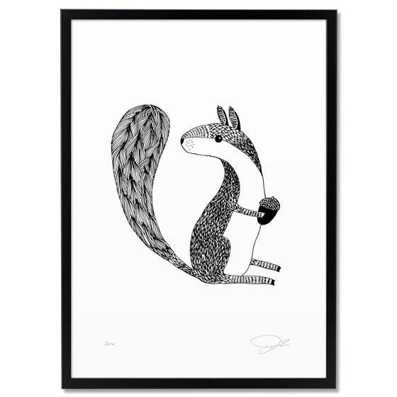 Image of Print: Eichhörnchen