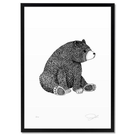 Image of Print: Bear