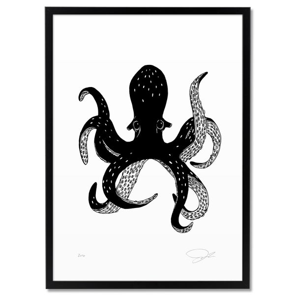 Image of Print: Octopus