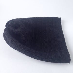 Image of Fishbone Pattern Hat // Black