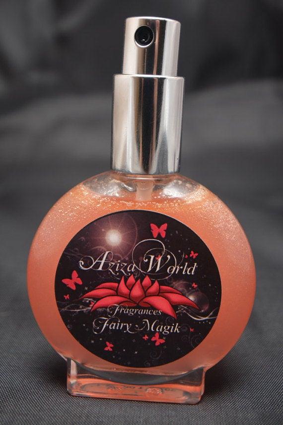 Image of Fairy Magik Perfume, Floral with Jasmine, Ylang Ylang, Vanilla, Handmade Ladies Perfume