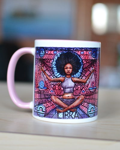 Image of Libra Mug (From the Zodiac series)